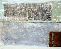 Patina, Vergänglichkeit, Acrylmalerei, Gips