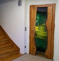 Zimmertüren, Glasdesign, Schmelzen, Glasveredelung