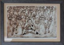 Acrylmalerei, Milan art, Zeitgenössische kunst, Moderne kunst