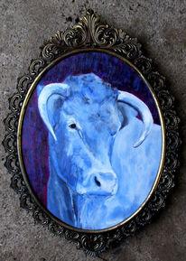Kuh, Malerei, Landenhausen, Kuhmaler