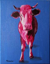Malen, Kuhgemälde, Moderne kunst, Kuh