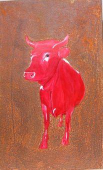 Rostkuh, Bulle, Milan art, Kunstrost