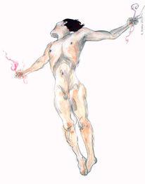 Menschen, Körper, Luft, Seele
