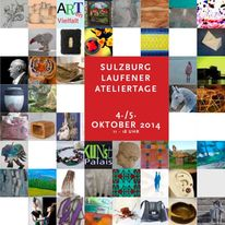 Oktober, Ateliertage, 2014, Pinnwand