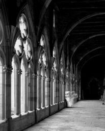Kreuzgang, Großformat, Kloster, Fotografie