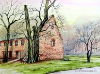 Kloster, Grimma, Ruine, Mulde