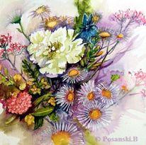 Blumenstrauß, Pfingstrose, Sommerstrauß, Blumen