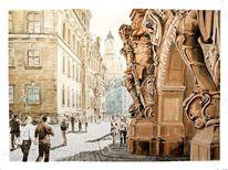 Argonauten, Ständehaus, Dresden, Georgentor