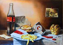 Hommage, Stillleben, Ölmalerei, Malerei