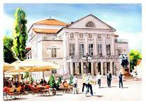 Goethe, Schiller, Weimar, Theater