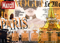 Paris, Collage, Fashiondi, Digital composing