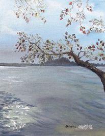 See, Wasser, Wolken, Malerei