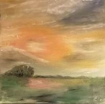 Eolken, Abend, Malerei