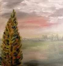 Herbst, Baum, Malerei