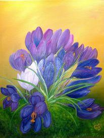Flora, Krokus, Blumen, Blüte