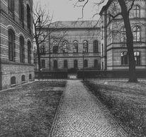 Stadt, Architektur, Schwarzweiß, Berlin