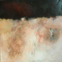 Oxidation, Acrylmalerei, Malerei, Mischtechnik