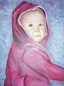Baby, Rosa, Kleinkind, Malerei