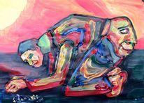 Malerei, Anatomie