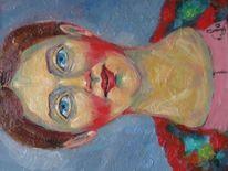 Malerei, Mädchen