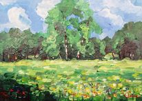 Malerei, Sommer