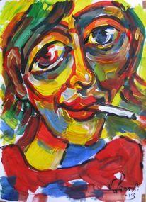 Malerei, Zigarette