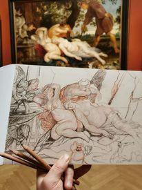 Kunsthistorischesmuseumwien, Gemäldestudie, Museum, Studie
