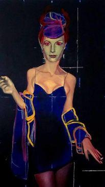 Ölmalerei, Leinen, Contemporatyart, Model