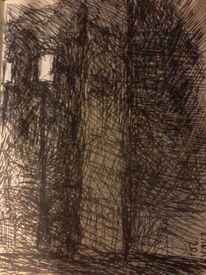 Kritzelei, Lama, Illustrationen,