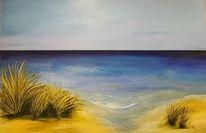 Weite, Meer, Dünen, Strand