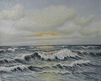 Norden, Welle, Küste, Nordsee