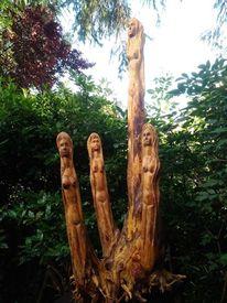 Holz, Wurzel, Stamm, Kunsthandwerk