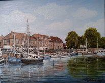 Hafen, Wangerland, Hooksiel, Boot kutter