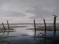 Watt, Norden, Nordsee, Meer