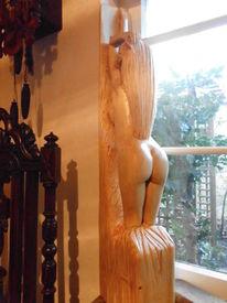 Skulptur, Frau, Plastik