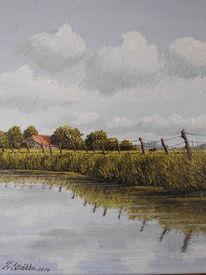 Wasser, Ostfriesland, Weite, Norden