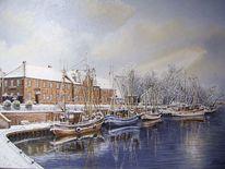 Hafeneinfahrt, Hooksiel, Kutter, Wangerland