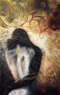 Umschlungen, Ergreifend, Vivement, Malerei