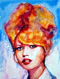 Farben, Schauspieler, Portrait, Brigitte bardot