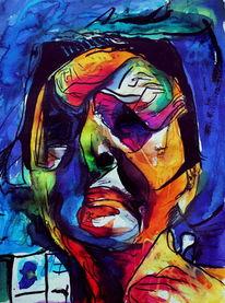 Ausdruck, Portrait, Menschen, Frau