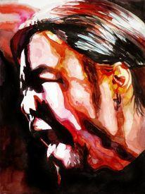 Portrait, Menschen, Schrei, Ausdruck