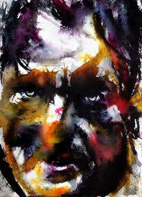 Gesicht, Farben, Ausdruck, Menschen