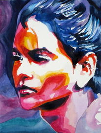 Gesicht, Ausdruck, Blick, Portrait