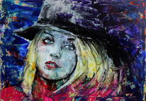 Blick, Hut, Menschen, Farben