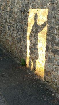 Schatten licht mauer, Schattenspiel, Fotografie