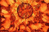 Orange, Feuer, Kugel, Farben