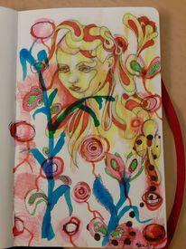 Zeichnungen, Farbverlauf,