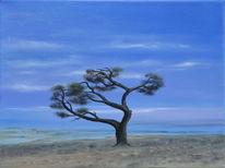 Urlaub, Reise, Wind, Malerei
