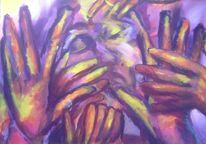 Hände, Malerei, Abschied