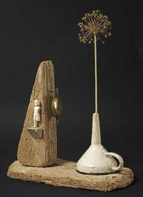 Assemblage, Collage, Objekt, Plastik